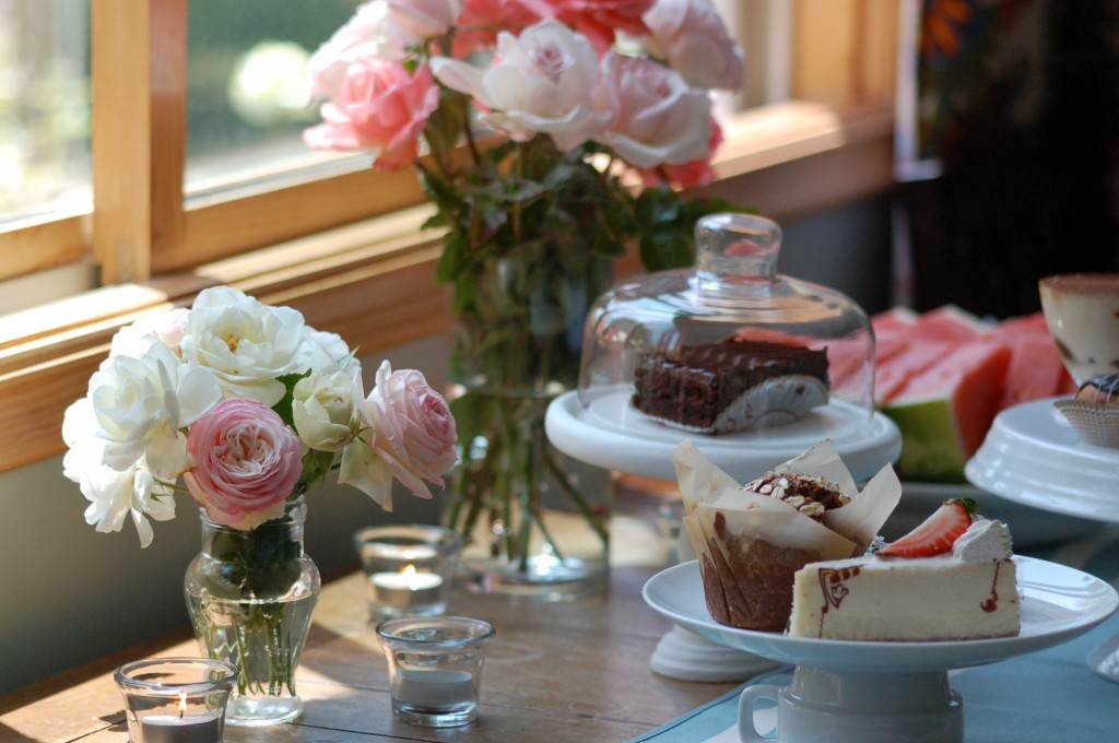Flowers and treats