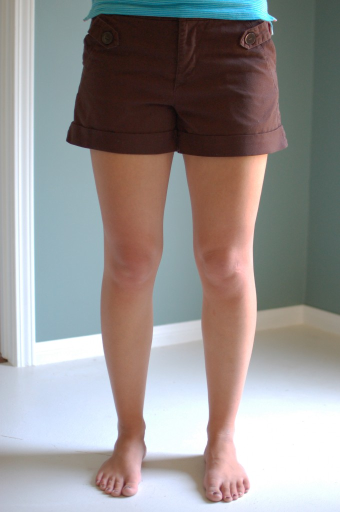 Shorts, after