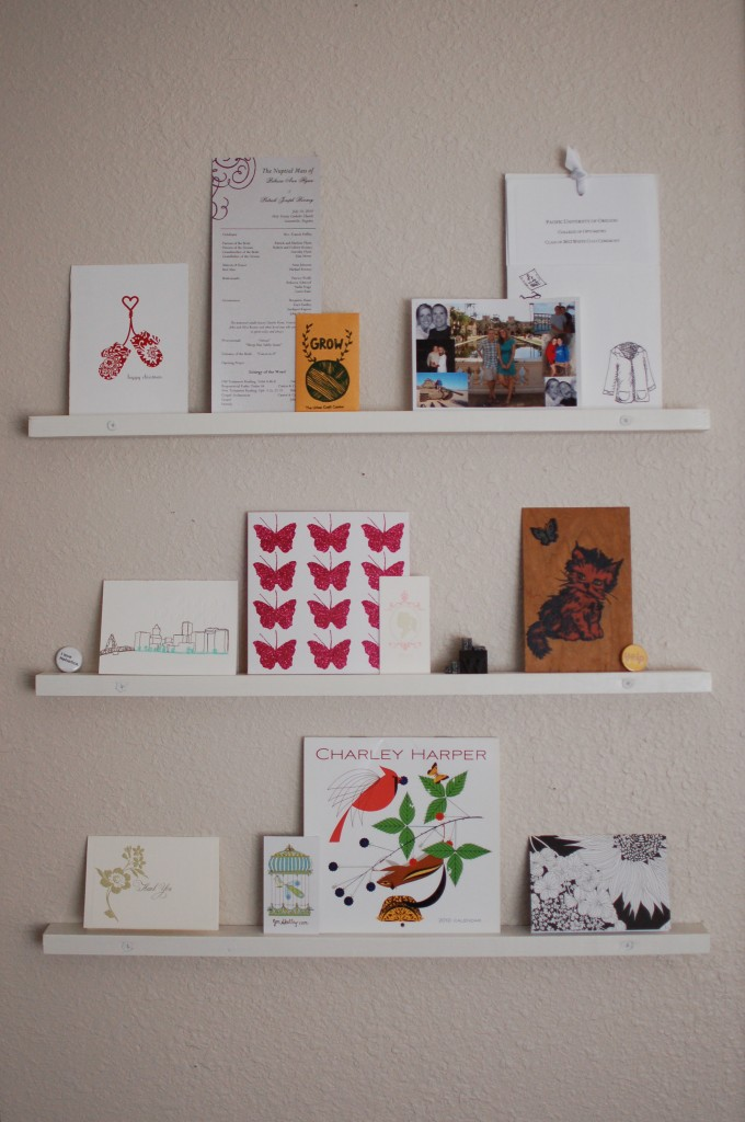 Inspiration shelves