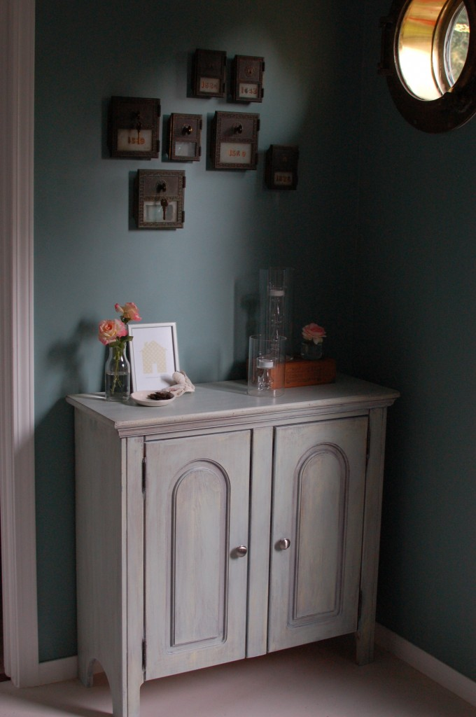 Cabinet in entryway