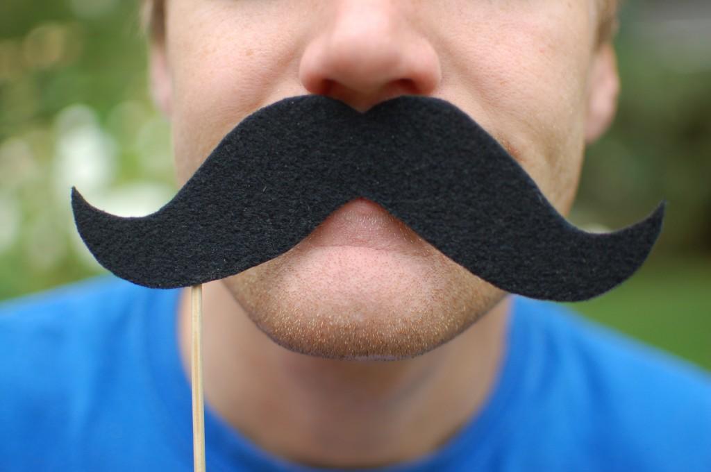 Mustache close-up