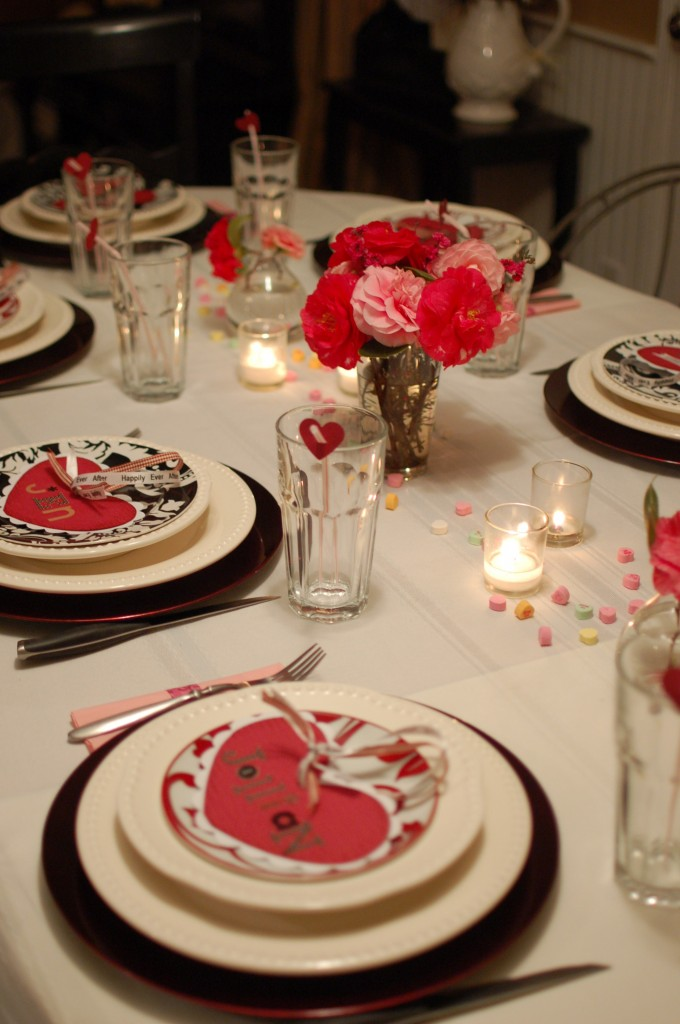Valentine's Day dinner party