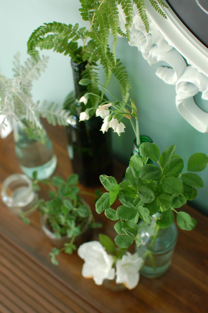 St. Patrick's Day centerpieces