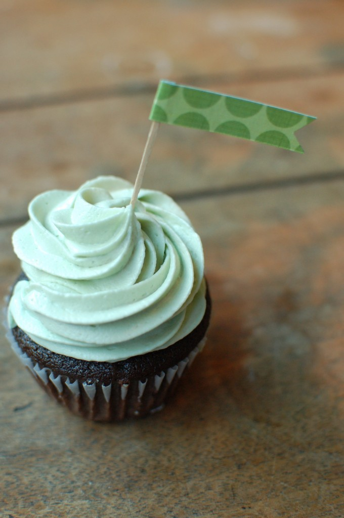St. Patty's Day cupcake