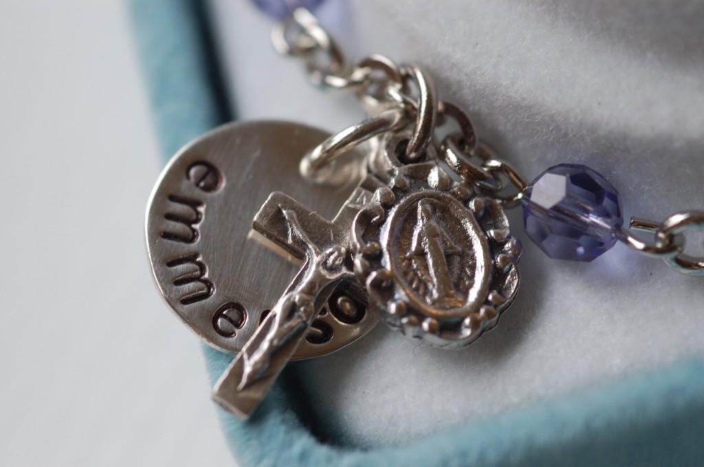 Rosary charm