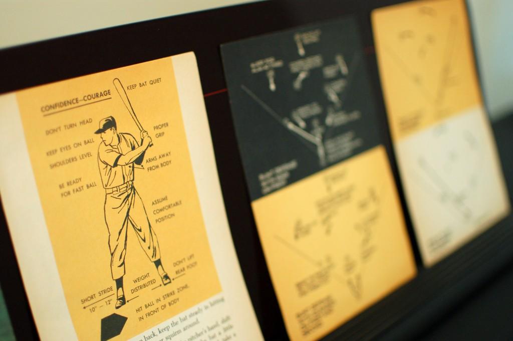 Vintage baseball book