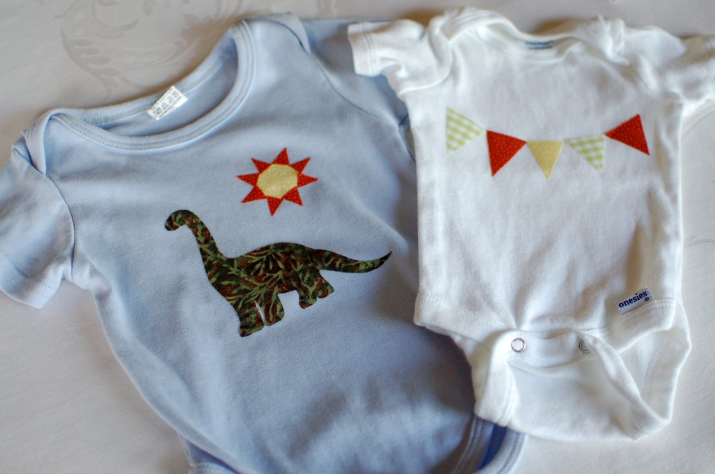 Finished onesies