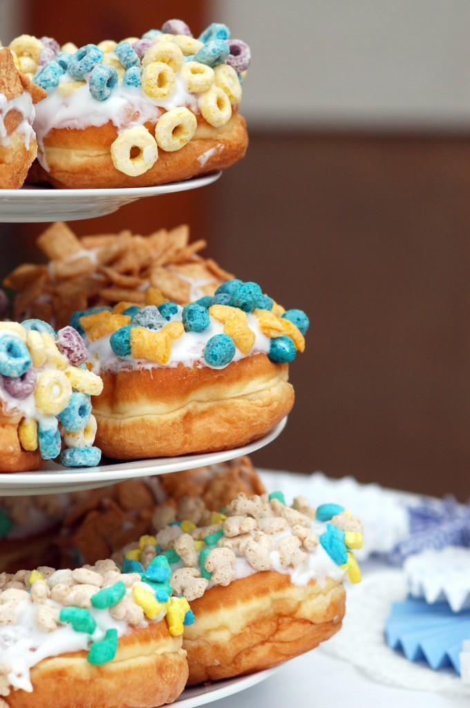 Voodoo doughnuts groom's cake