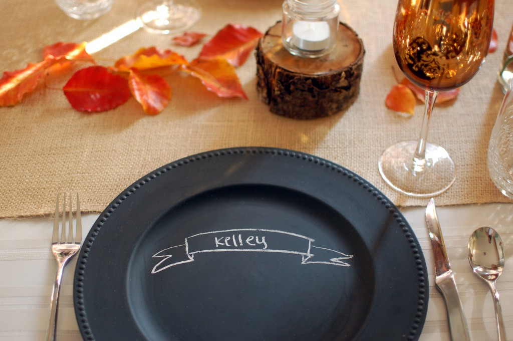 Chalkboard charger