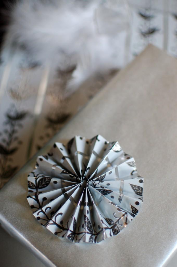 Silver rosette