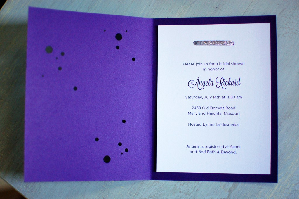 Constellation Shower Invitations