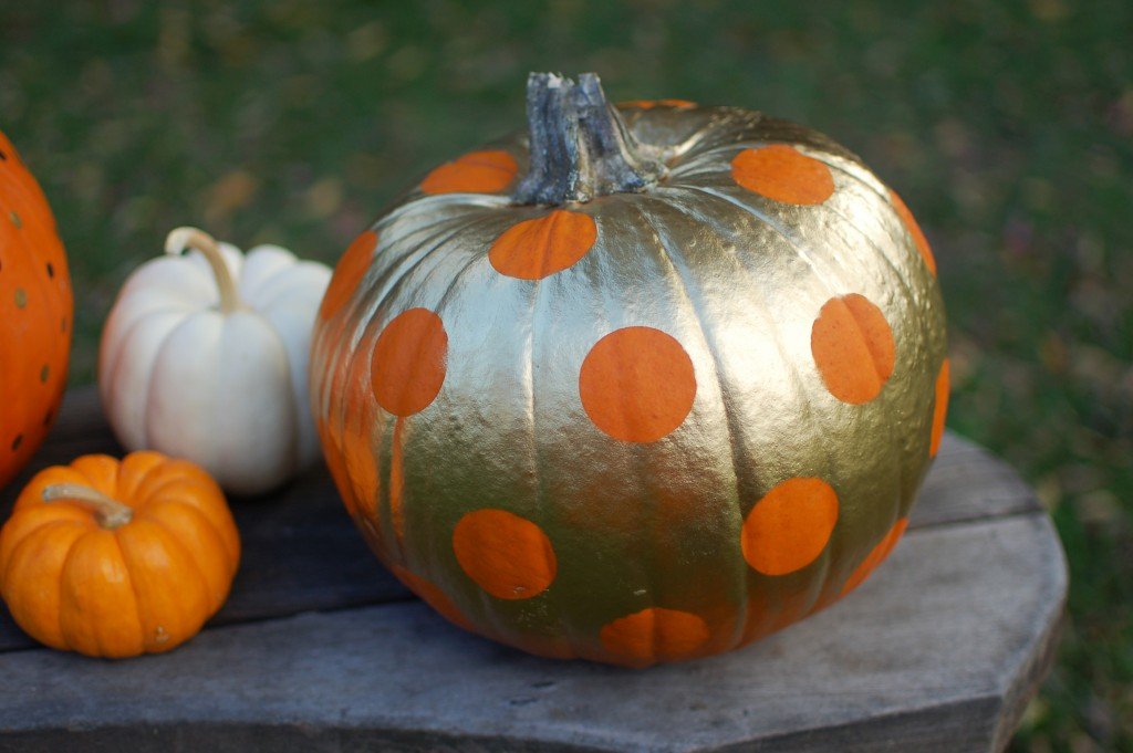 Image result for pumpkin with dots
