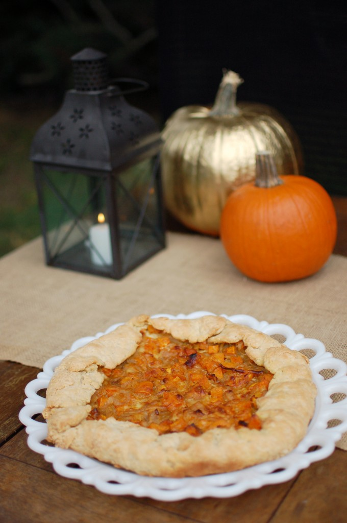 Galette and pumpkins