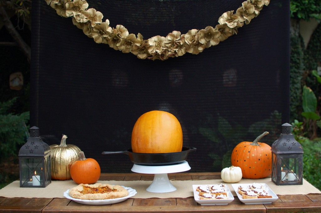 Fall appetizer table