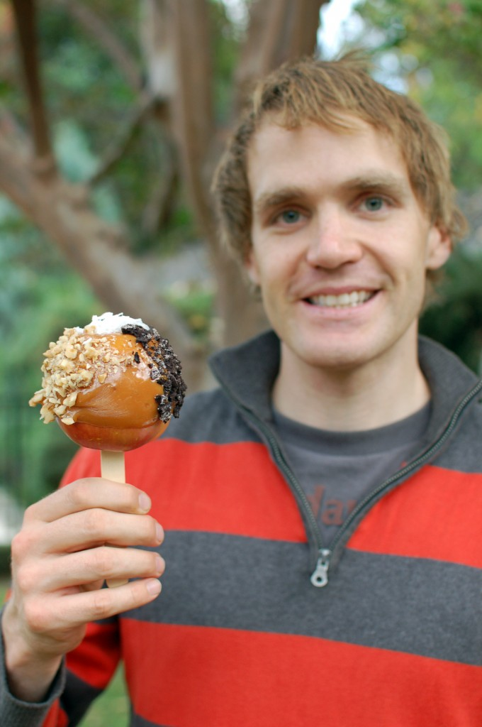 Greg's caramel apple