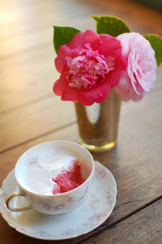 Teacup cupcake