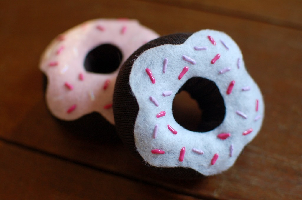 Toy donuts