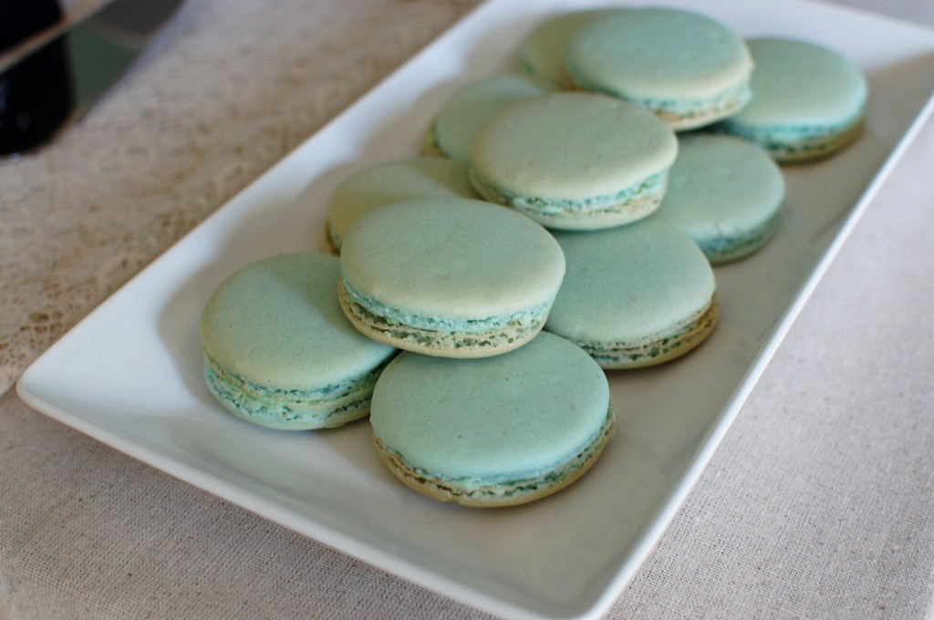 pistachio macarons | seakettle