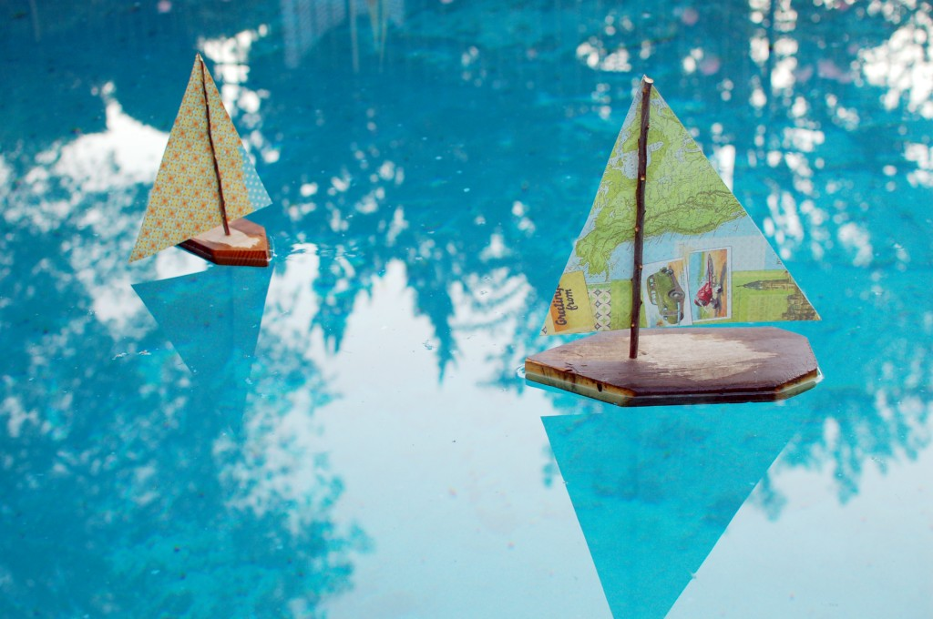 Sail Boats in the Pool
