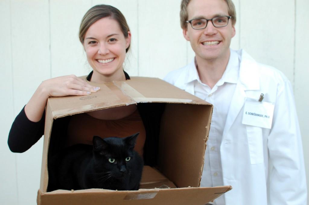 Schrodinger's Cat Halloween Costume