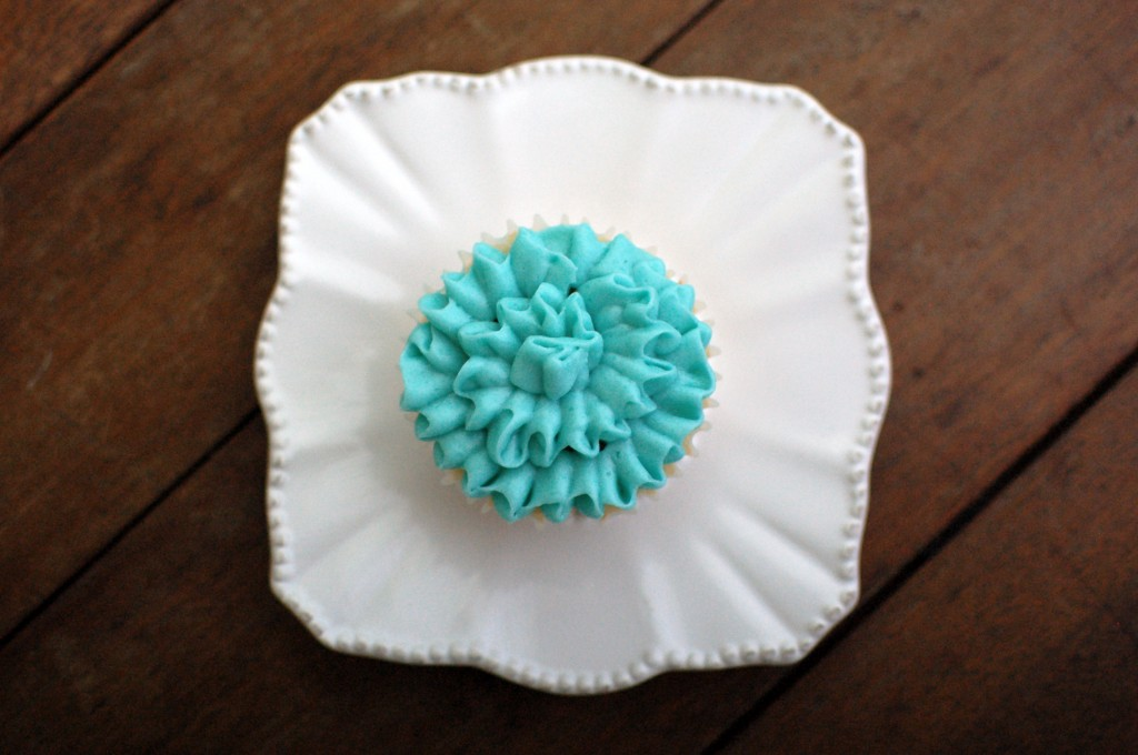 Ruffled cupcake  |  Seakettle