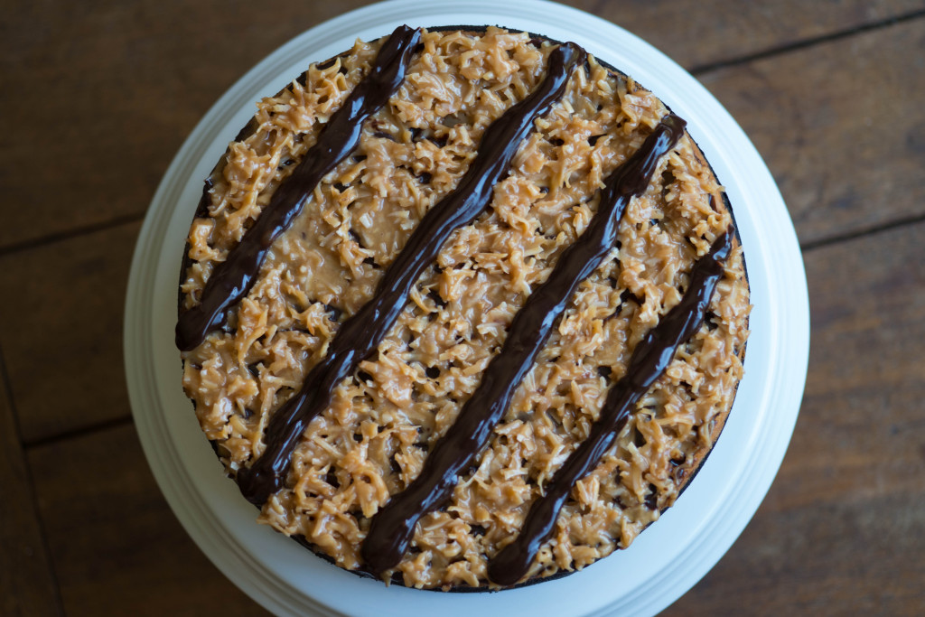 Samoas Cheesecake  |  Seakettle