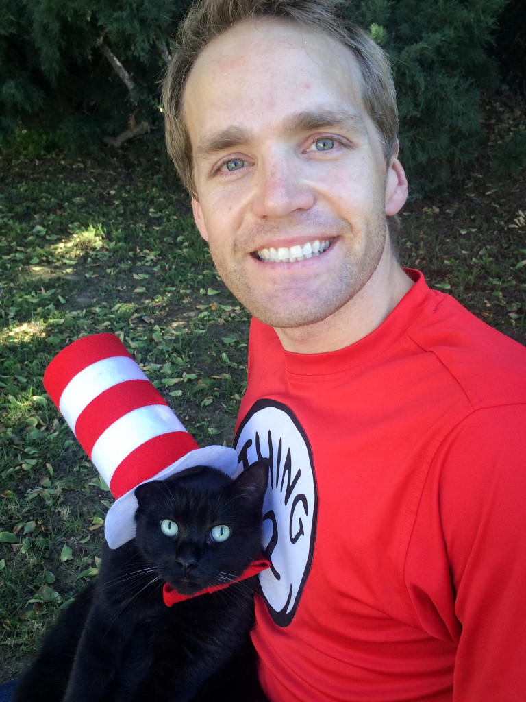 Cat in the Hat with Thing 2 Costume