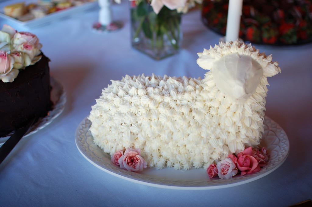 Lamb Cake